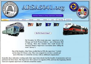 Railway Supervisors Union website