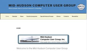 Mid-Hudson Computer User Group